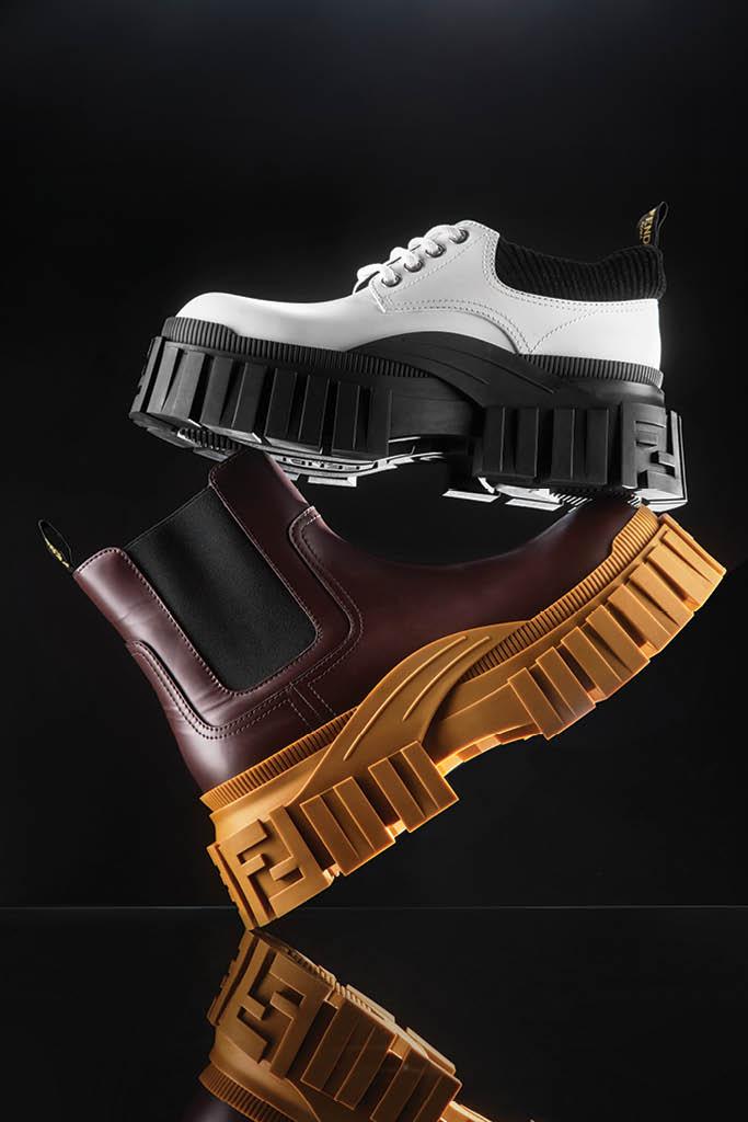 fall 2020 men's, platform shoes, fendi