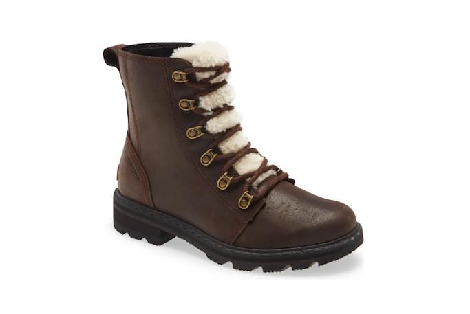 Sorel Lennox Lace Up Boot, Nordstrom Winter Sale
