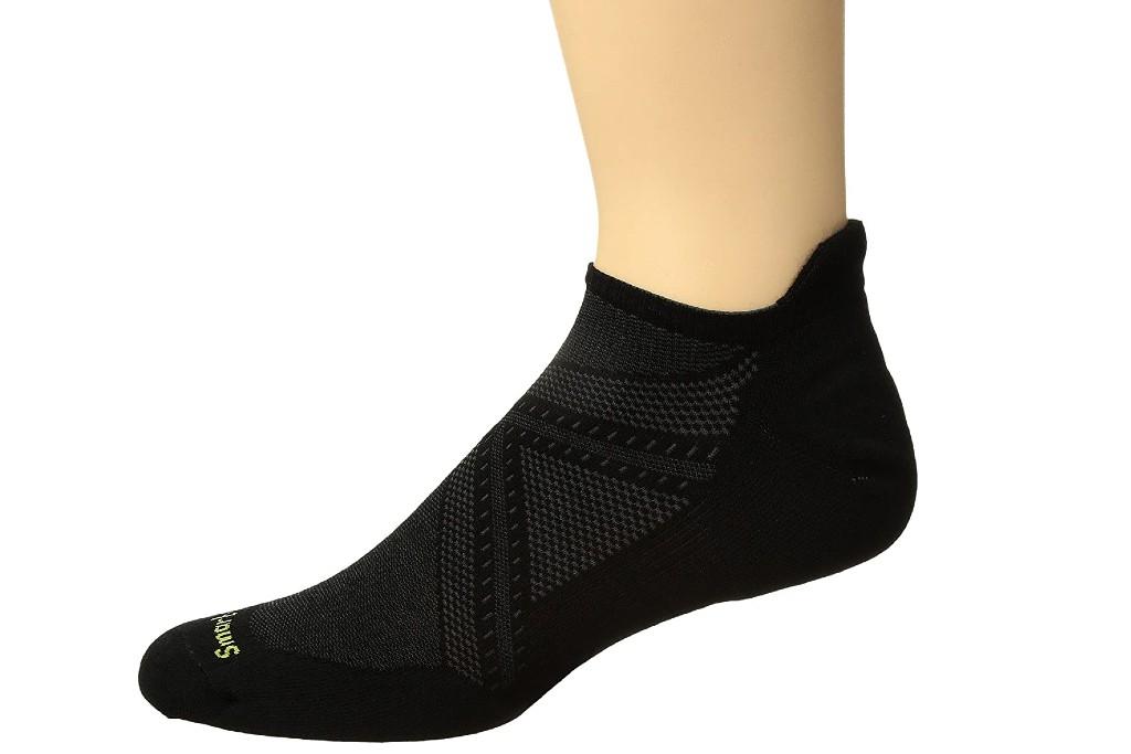 Smartwool PhD Run Light Elite Micro, men's ankle socks