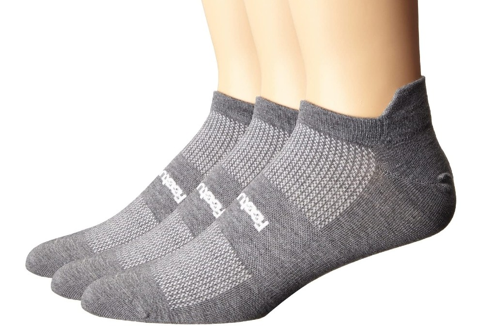 men's ankle socks, Feetures High Performance Ultra Light No Show Tab 3-Pair Pack