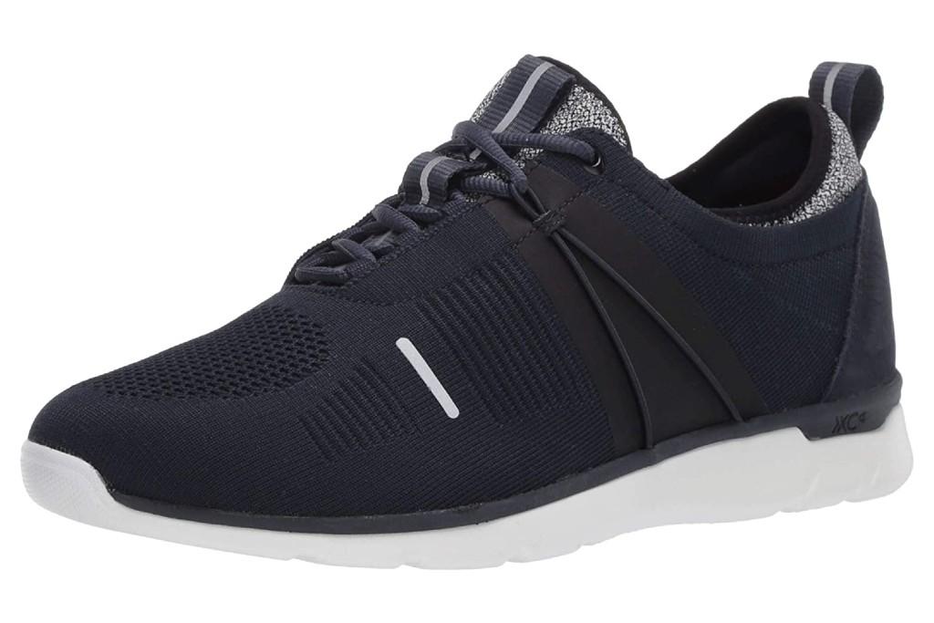 Johnston & Murphy Men's XC4 Prentiss U-Throat Shoe, waterproof knit sneakers