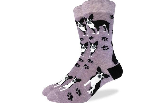 big and tall animal themed dress socks for men