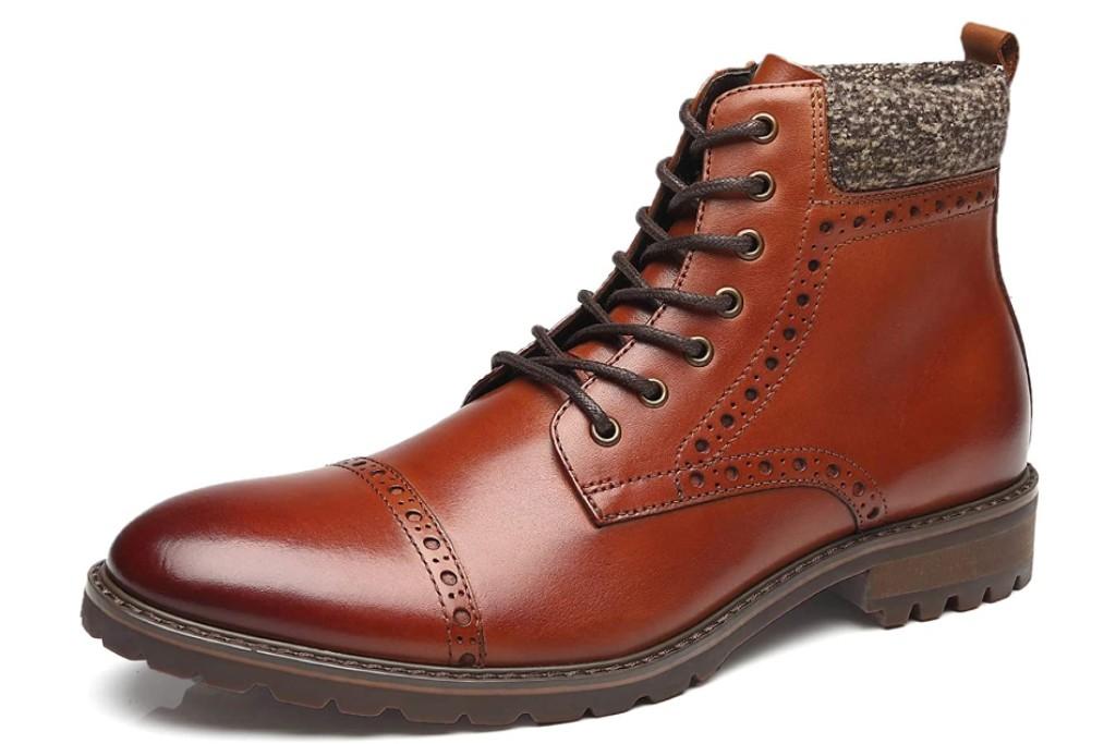 La Milano Lace-Up Boot, men's dress boots