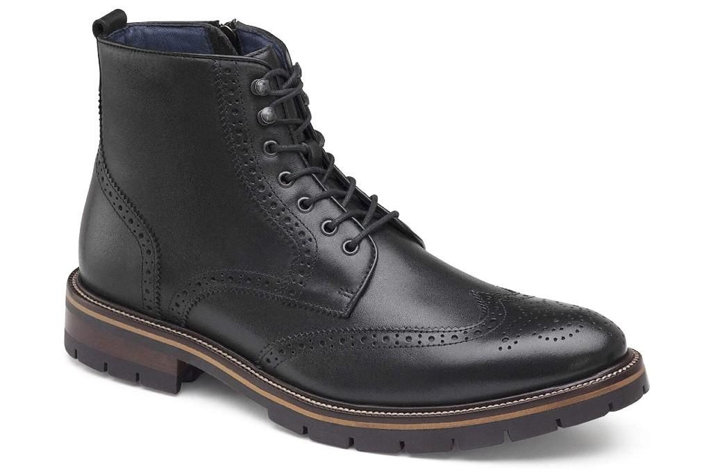 Johnston & Murphy XC Flex Cody Wingtip Zip Boot, men's dress boots