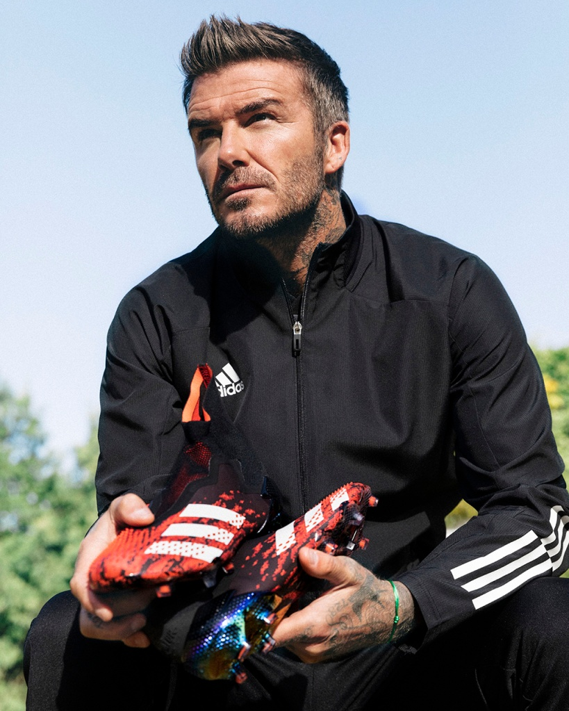 David Beckham, adidas, predator, cleats