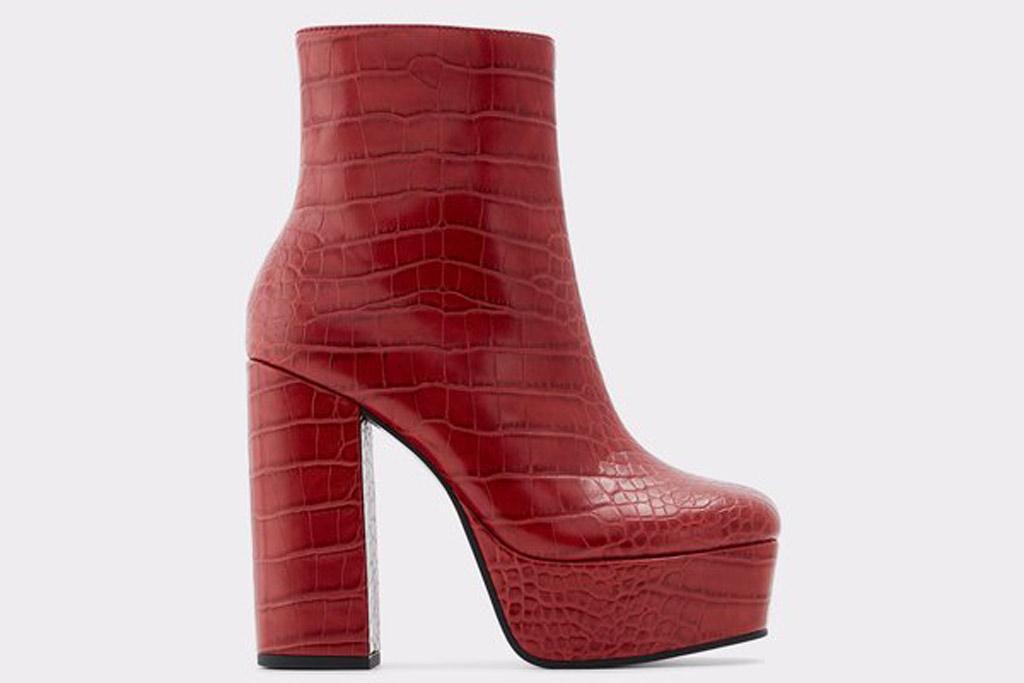 Aldo Delarathien, platforms, ankle boots