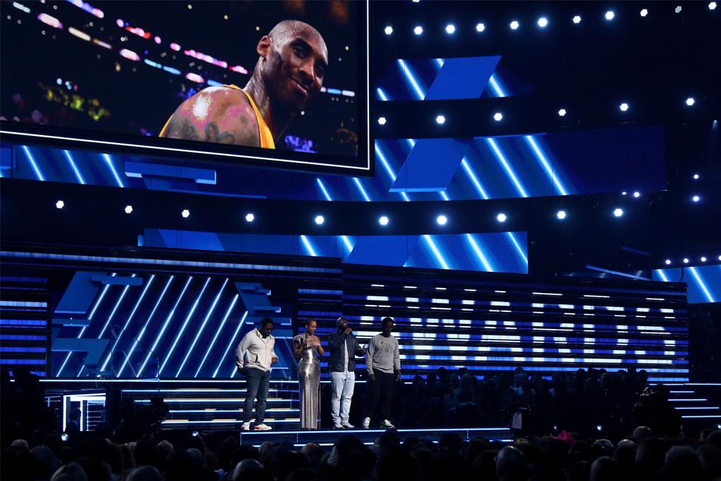 alicia keys, Boyz II Men, kobe bryant, grammy awards