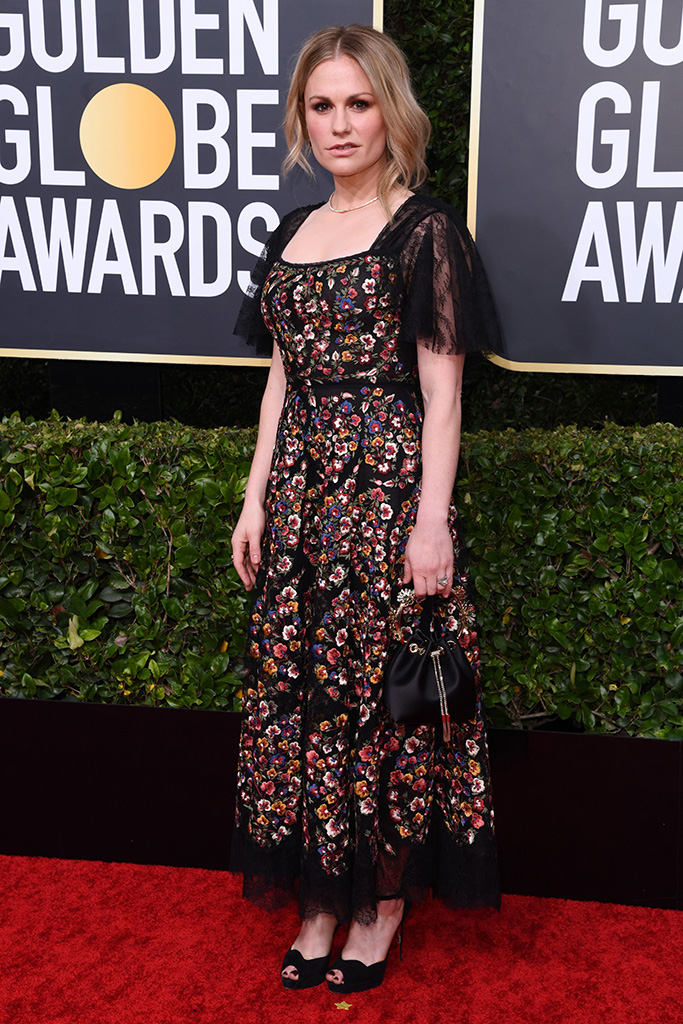 Anna Paquin77th Annual Golden Globe Awards, Arrivals, Los Angeles, USA - 05 Jan 2020 Wearing Dior
