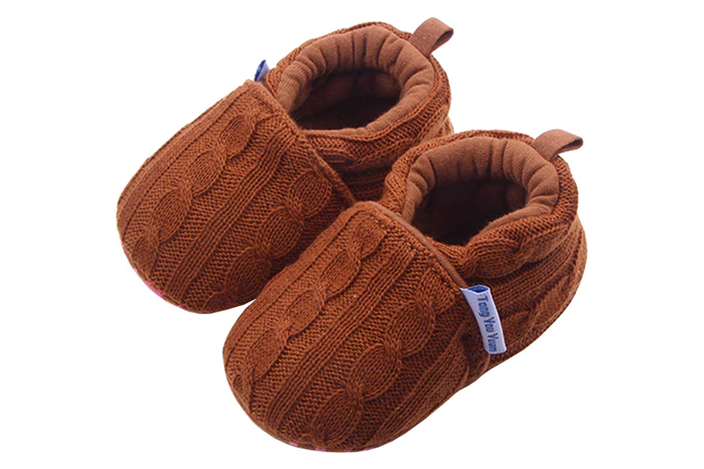 beeliss knit crib shoes