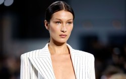 Bella Hadid, runway, paris couture week,