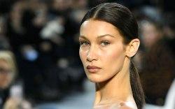 Bella Hadid, runway, paris couture week,