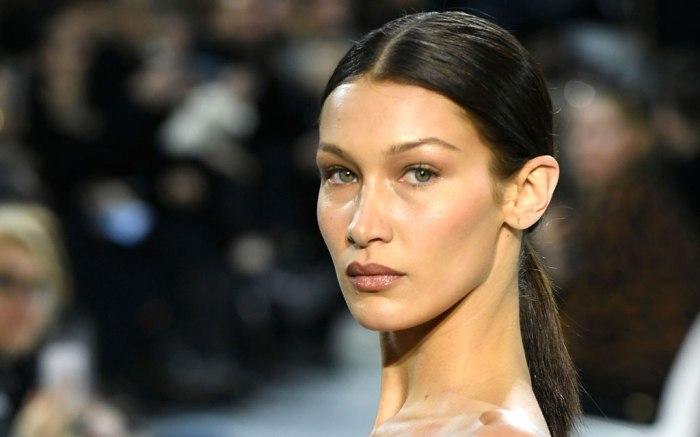 Bella Hadid, runway, paris couture week, alexandre vauthier, celebrity style,