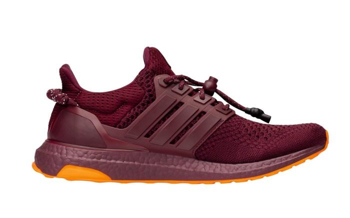 adidas, ivy park, beyoncé, sneakers, maroon, orange