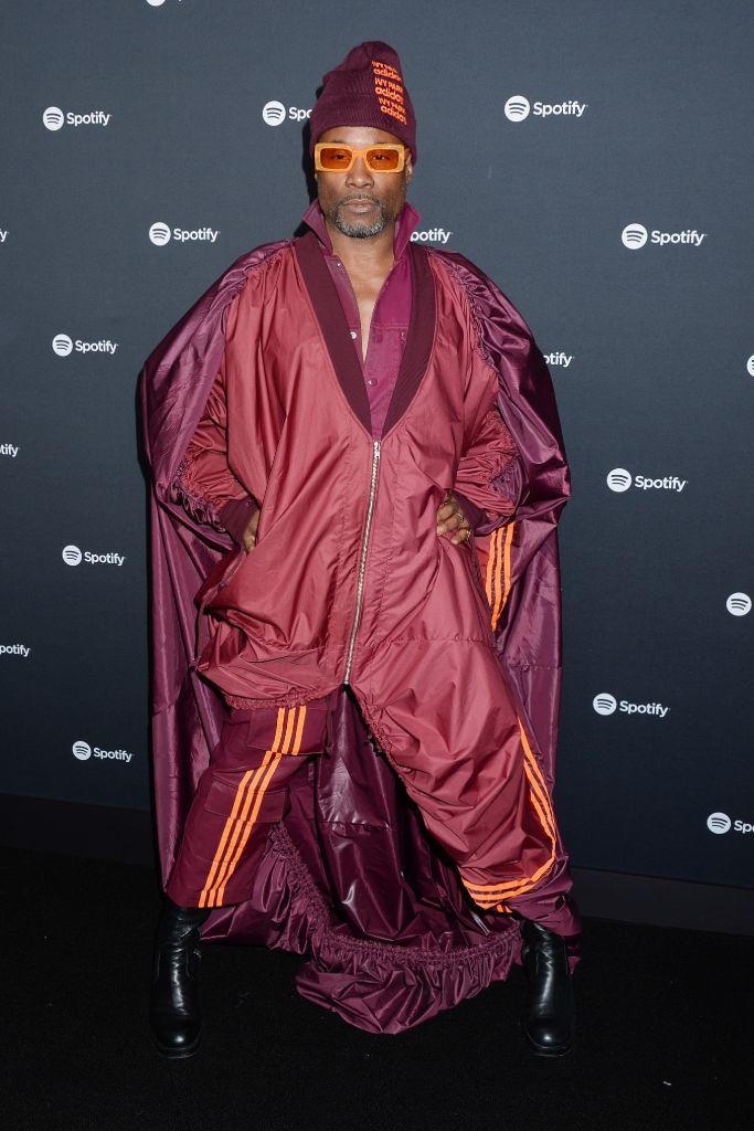 billy porter, red carpet, adidas