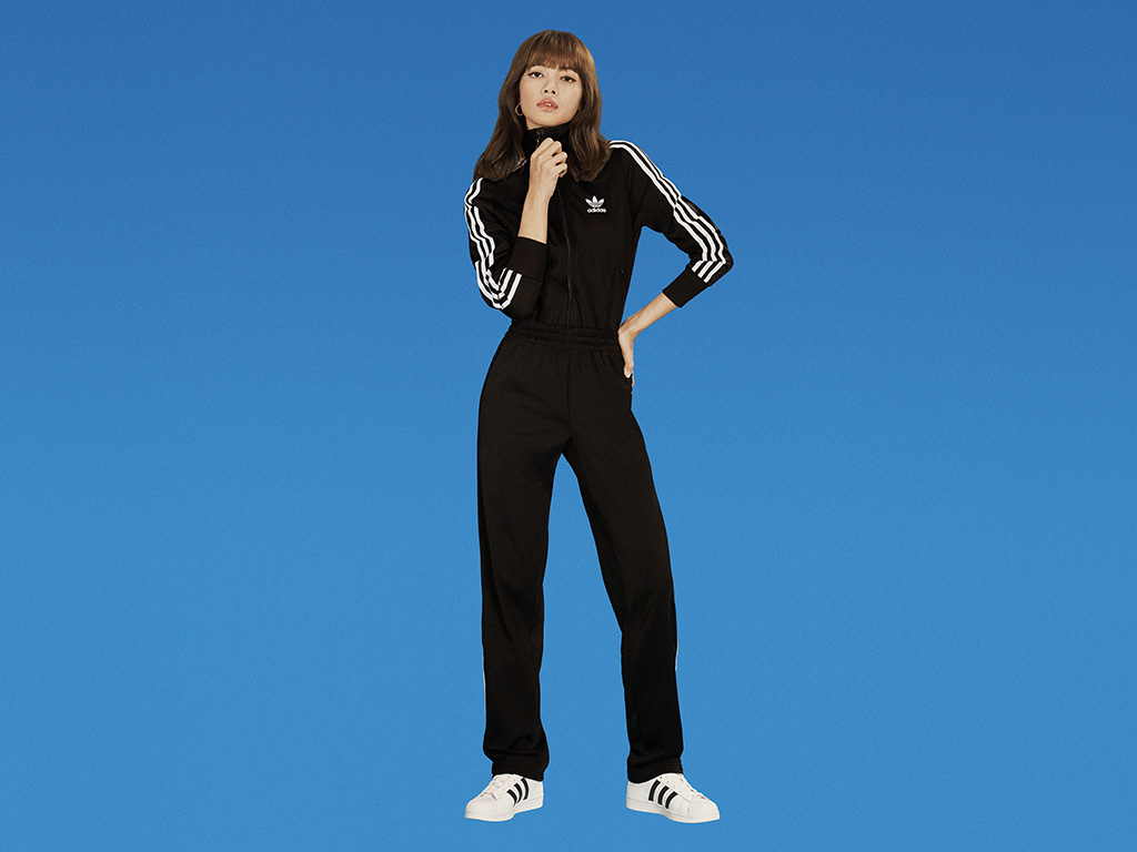 Lisa, blackpink, ad campaign, adidas originals, celebrity