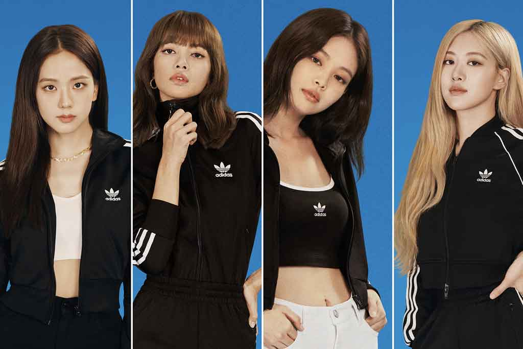 Blackpink Stars In Adidas Change Is A Team Sport Campaign Photos Footwear News