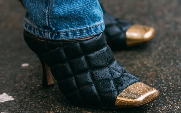 Bottega Veneta mules, Copenhagen Fashion Week fall '20, street style