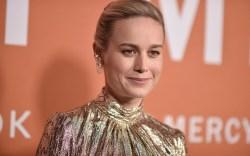Brie Larson attends the LA premiere