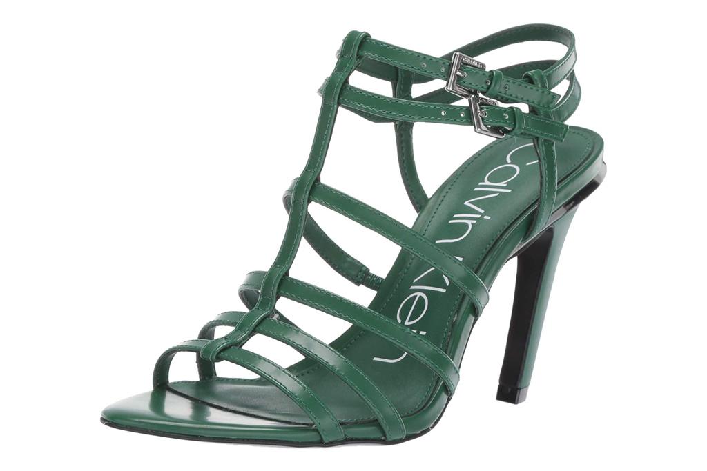 calvin klein gladiator heels