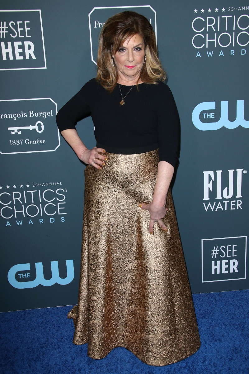 marvelous mrs maisel, caroline aaron, critics choice, shirley maisel