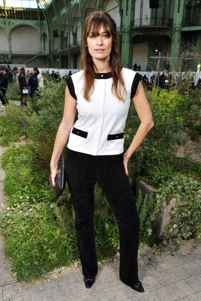 Caroline de Maigret in the front rowChanel show, Front Row, Spring Summer 2020, Haute Couture Fashion Week, Paris, France - 21 Jan 2020Wearing Chanel Same Outfit as catwalk model Marjan Jonkman *10491841k