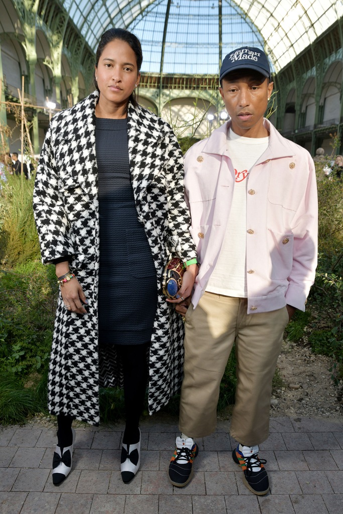 Helen Lasichanh and Pharrell Williams in the front rowChanel show, Front Row, Spring Summer 2020, Haute Couture Fashion Week, Paris, France - 21 Jan 2020