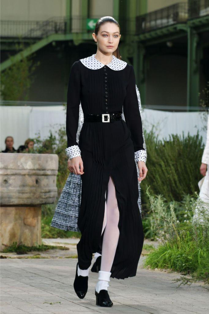 Gigi Hadid , chanel, spring 2020, couture, paris haute couture week