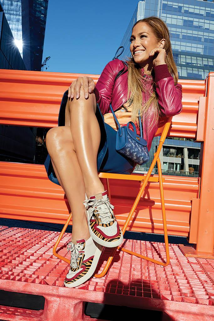 Jennifer Lopez Coach CitySole Sneakers