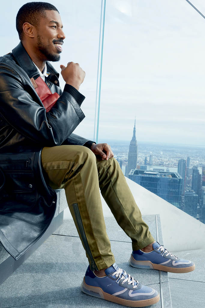 Coach Michael B. Jordan sneakers