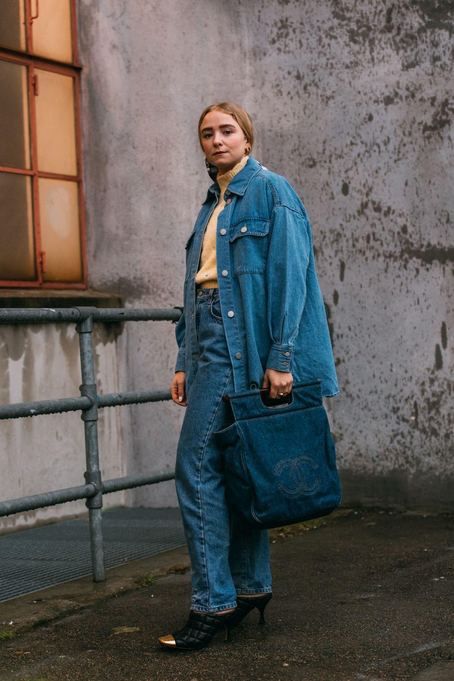 Fanny Ekstrand, Bottega Veneta, copenhagen fashion week, street style, cfw, aw20, fall 2020