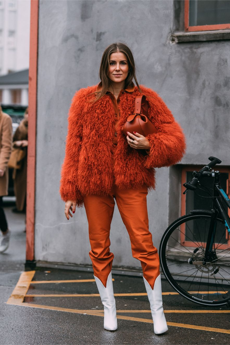 Nina Sandbech, Custommade, copenhagen fashion week, street style, cfw, aw20, fall 2020