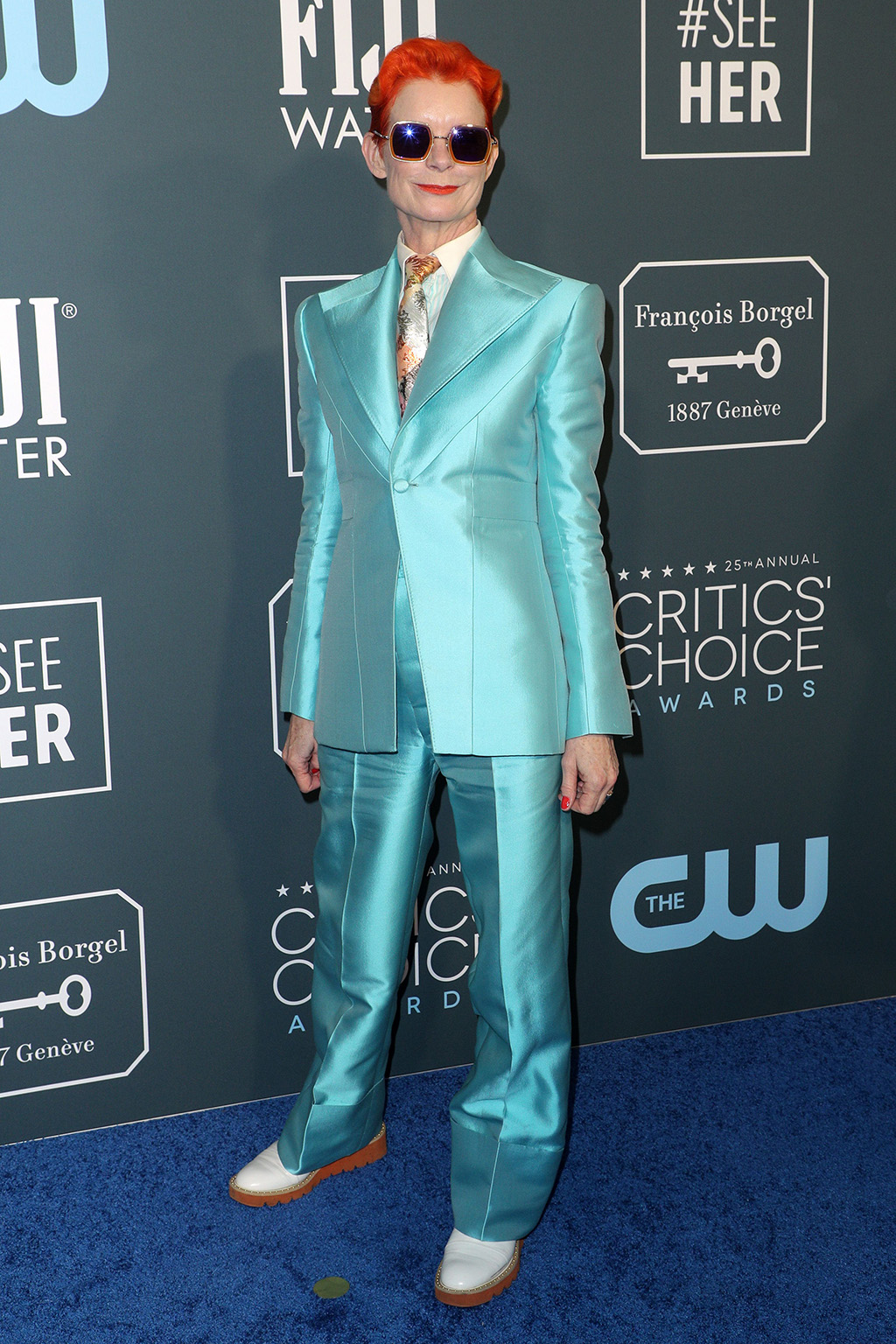 Sandy Powell25th Annual Critics' Choice Awards, Arrivals, Barker Hanger, Los Angeles, USA - 12 Jan 2020