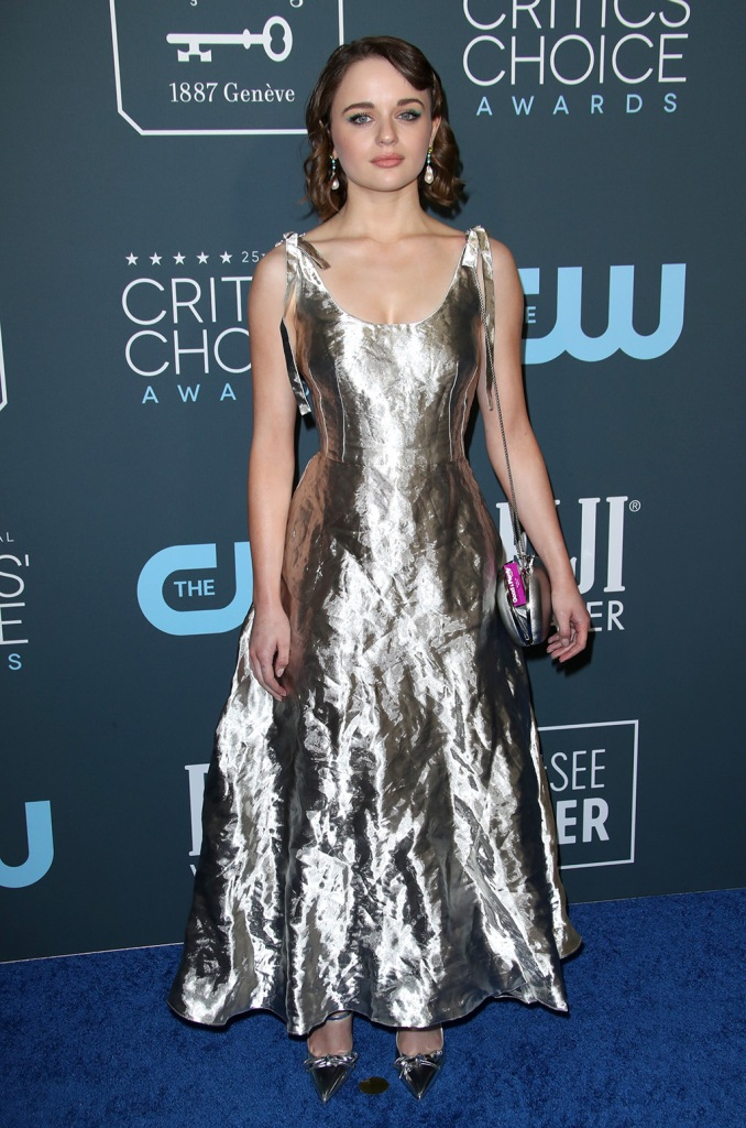 Joey King25th Annual Critics' Choice Awards, Arrivals, Barker Hanger, Los Angeles, USA - 12 Jan 2020