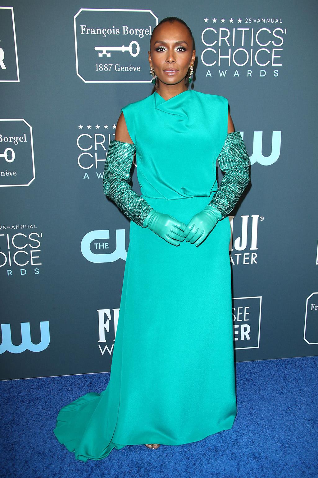 Janet Mock25th Annual Critics' Choice Awards, Arrivals, Barker Hanger, Los Angeles, USA - 12 Jan 2020