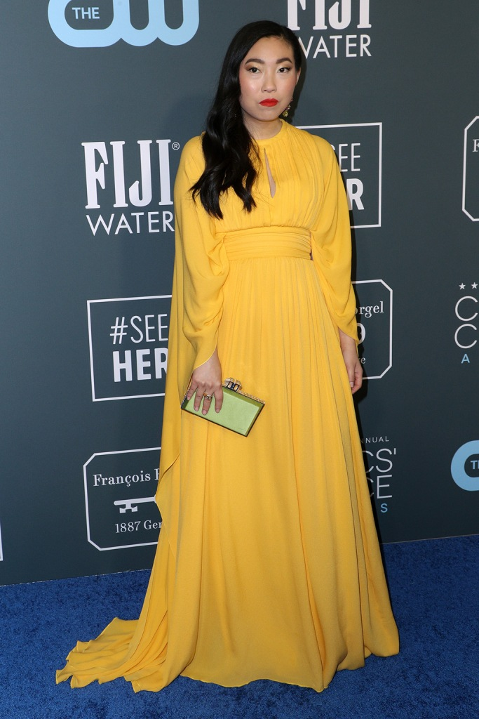 Awkwafina25th Annual Critics' Choice Awards, Arrivals, Barker Hanger, Los Angeles, USA - 12 Jan 2020