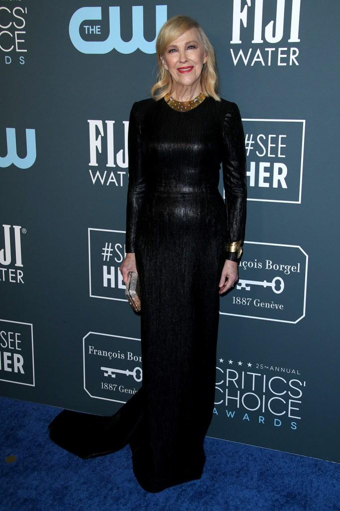 Catherine O'Hara25th Annual Critics' Choice Awards, Arrivals, Barker Hanger, Los Angeles, USA - 12 Jan 2020