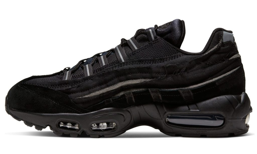 Comme Des Garcons x Nike Air Max 95 'Black'
