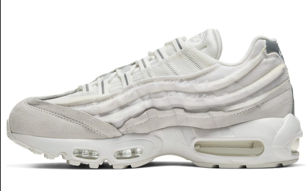 Comme Des Garcons x Nike Air Max 95 'White'
