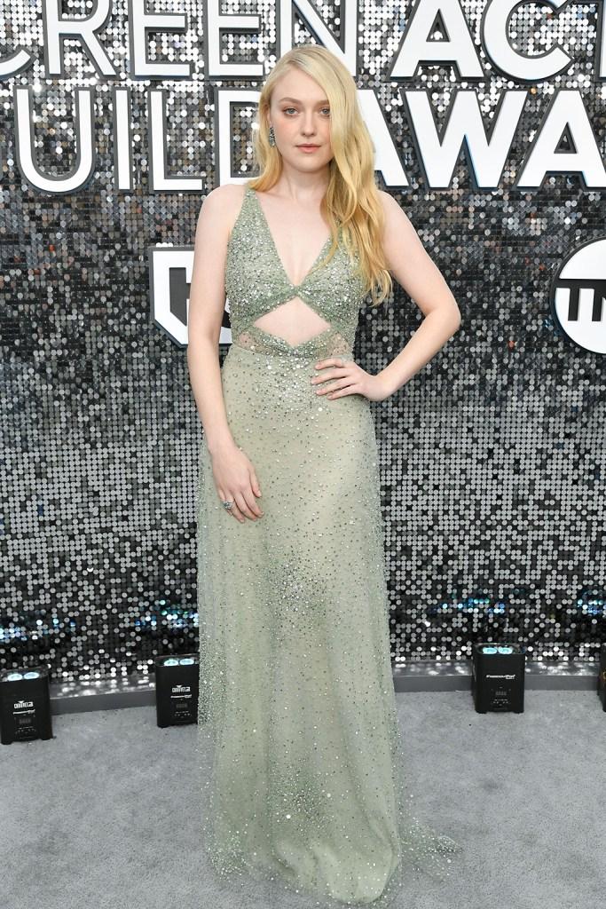 Dakota Fanning26th Annual Screen Actors Guild Awards, Arrivals, Shrine Auditorium, Los Angeles, USA - 19 Jan 2020