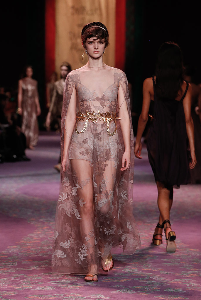 Dior haut couture, spring '20, Paris Couture Week.