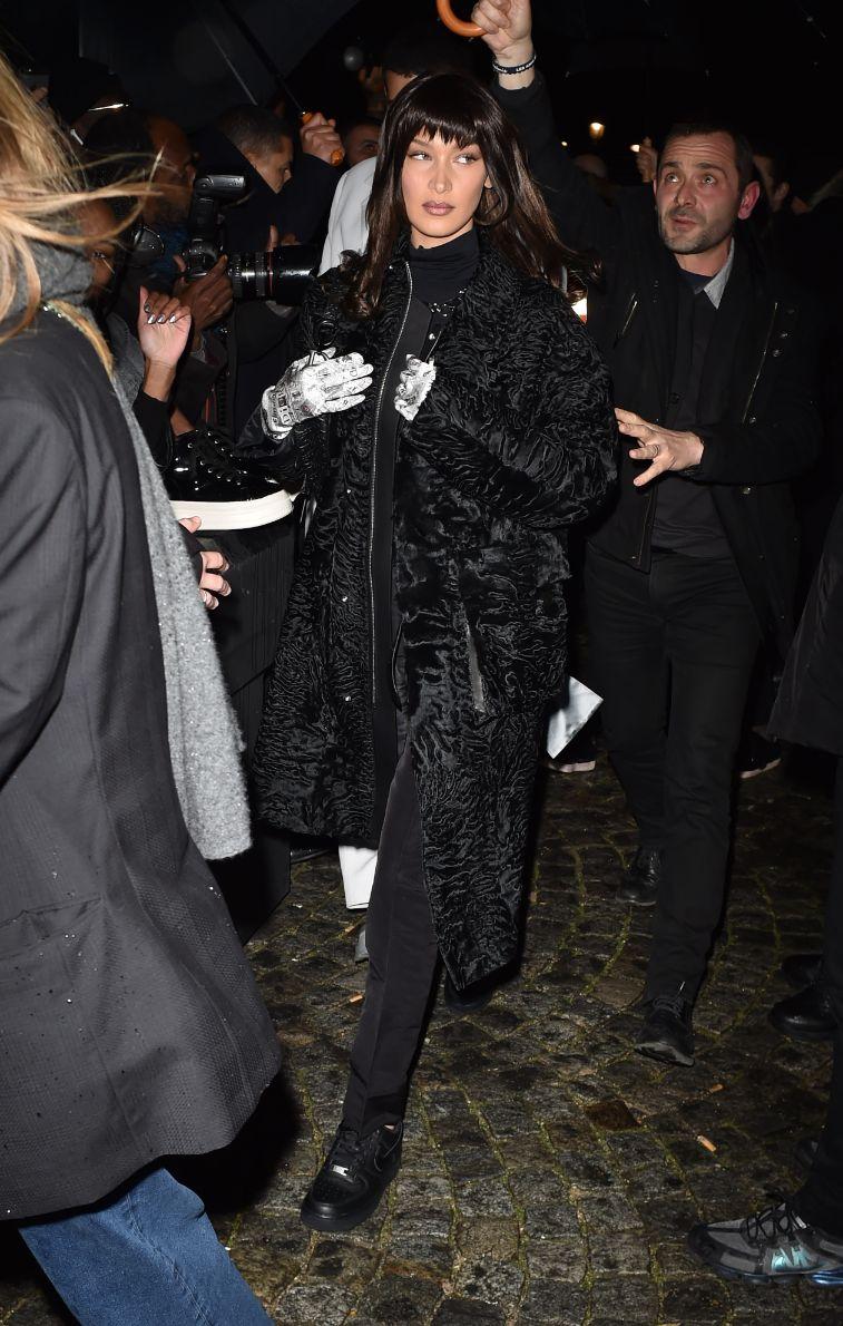 bella hadid, Dior Homme, fall '20, pfw, fw20