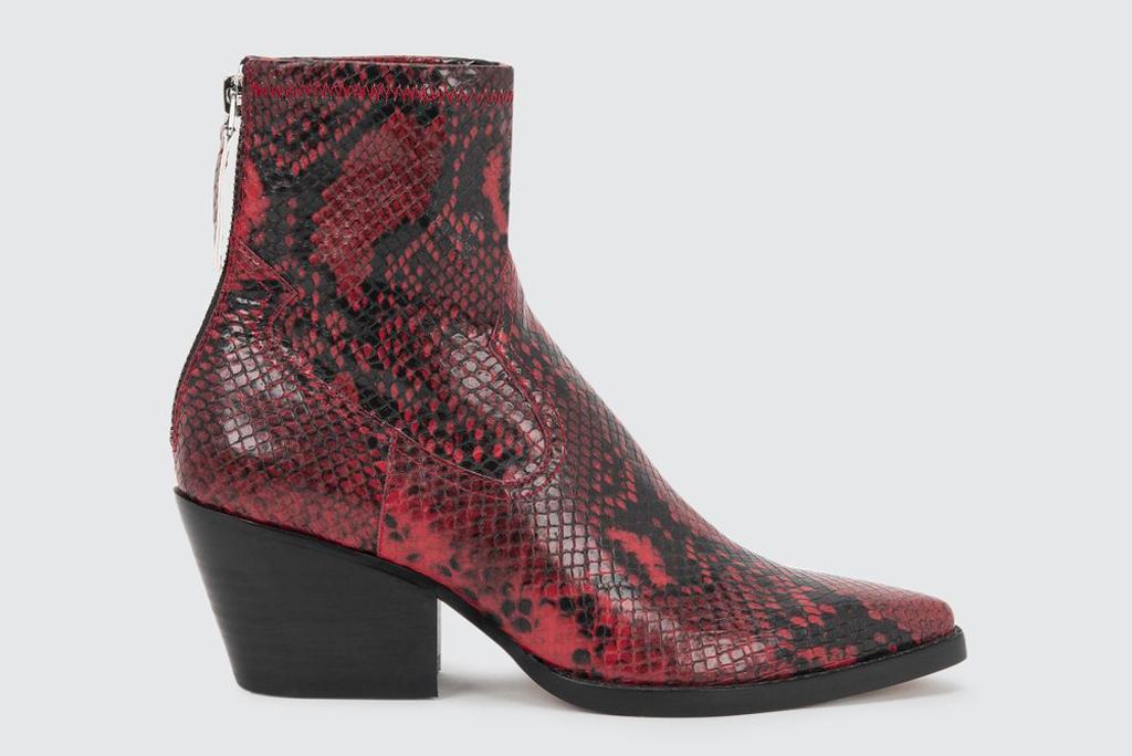 Dolce Vita Shanta, snake print boots