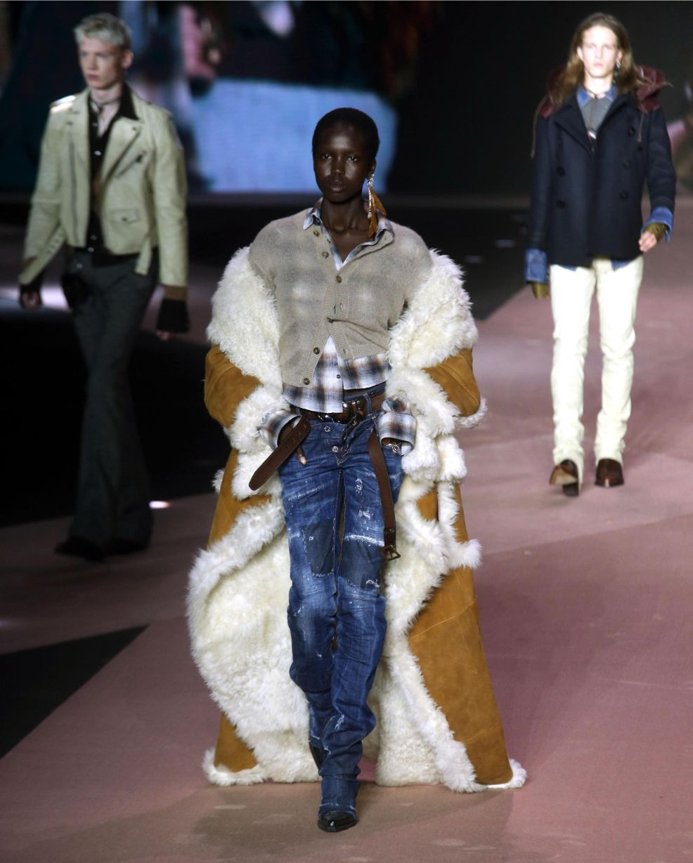 dsquared2, milan, milan fashion week, mfw, fw20