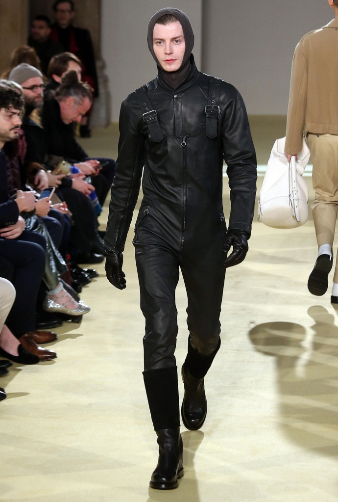 A model presents a creation by Salvatore Ferragamo during the Milan Fashion Week, in Milan, Italy, 12 January 2020. The Fall-Winter 2020-21 men's collections are presented at the Milano Moda Uomo from 10 to 14 January.Salvatore Ferragamo - Runway - Milan Fashion Week Men's F/W 2020/21, Italy - 12 Jan 2020