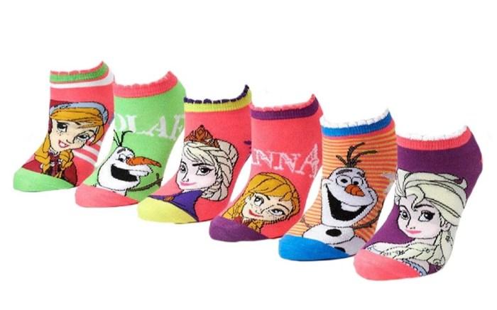 Disney Frozen No Show Socks