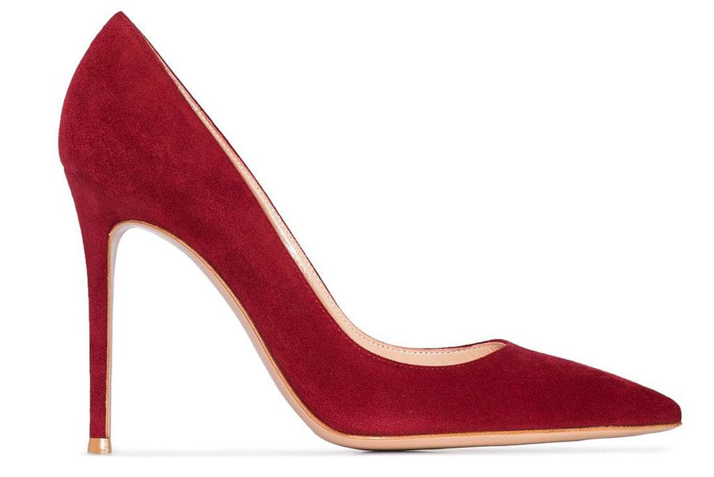 Gianvito Rossi, red pumps, stilettos
