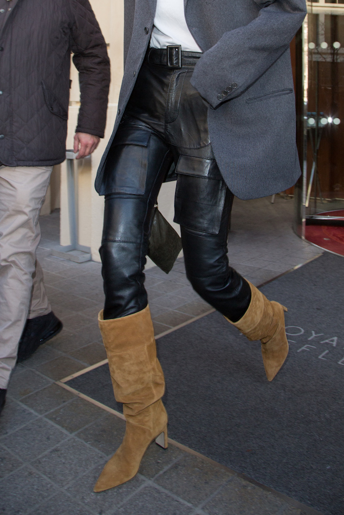 Gigi leaving her hotel during Haute Couture Spring/Summer 2020 in Paris on january 20, 2020. Photo by Nasser Berzane/ABACAPRESS.COM Pictured: Gigi Hadid Ref: SPL5141574 200120 NON-EXCLUSIVE Picture by: Nasser Berzane/ABACAPRESS.COM / SplashNews.com Splash News and Pictures Los Angeles: 310-821-2666 New York: 212-619-2666 London: +44 (0)20 7644 7656 Berlin: +49 175 3764 166 photodesk@splashnews.com United Arab Emirates Rights, Australia Rights, Bahrain Rights, Canada Rights, Finland Rights, Greece Rights, India Rights, Israel Rights, South Korea Rights, New Zealand Rights, Qatar Rights, Saudi Arabia Rights, Singapore Rights, Thailand Rights, Taiwan Rights, United Kingdom Rights, United States of America Rights