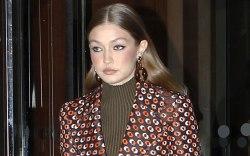Gigi Hadid, celebrity style, prada, paris