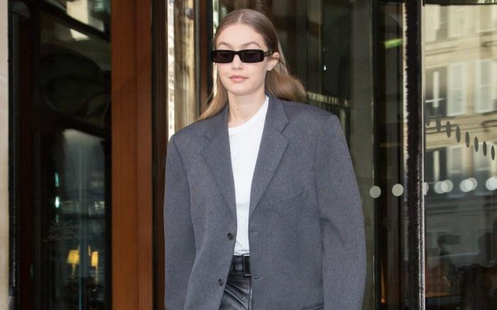 Gigi leaving her hotel during Haute Couture Spring/Summer 2020 in Paris on january 20, 2020. Photo by Nasser Berzane/ABACAPRESS.COMPictured: Gigi HadidRef: SPL5141574 200120 NON-EXCLUSIVEPicture by: Nasser Berzane/ABACAPRESS.COM / SplashNews.comSplash News and PicturesLos Angeles: 310-821-2666New York: 212-619-2666London: +44 (0)20 7644 7656Berlin: +49 175 3764 166photodesk@splashnews.comUnited Arab Emirates Rights, Australia Rights, Bahrain Rights, Canada Rights, Finland Rights, Greece Rights, India Rights, Israel Rights, South Korea Rights, New Zealand Rights, Qatar Rights, Saudi Arabia Rights, Singapore Rights, Thailand Rights, Taiwan Rights, United Kingdom Rights, United States of America Rights