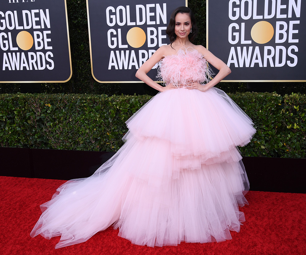 Sofia Carson77th Annual Golden Globe Awards, Fashion Highlights, Los Angeles, USA - 05 Jan 2020Wearing Giambattista Valli